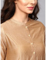 golden designer kurta with pants