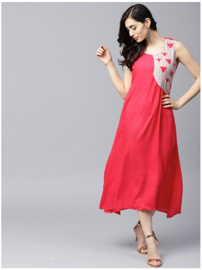 pink Designer Long Dresses