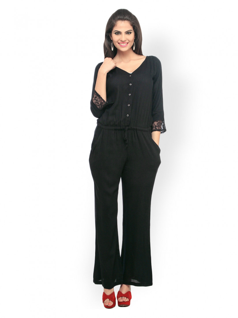 Women Black Jumpsuit