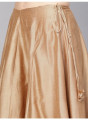 Gold Lehenga With Top And Jacket